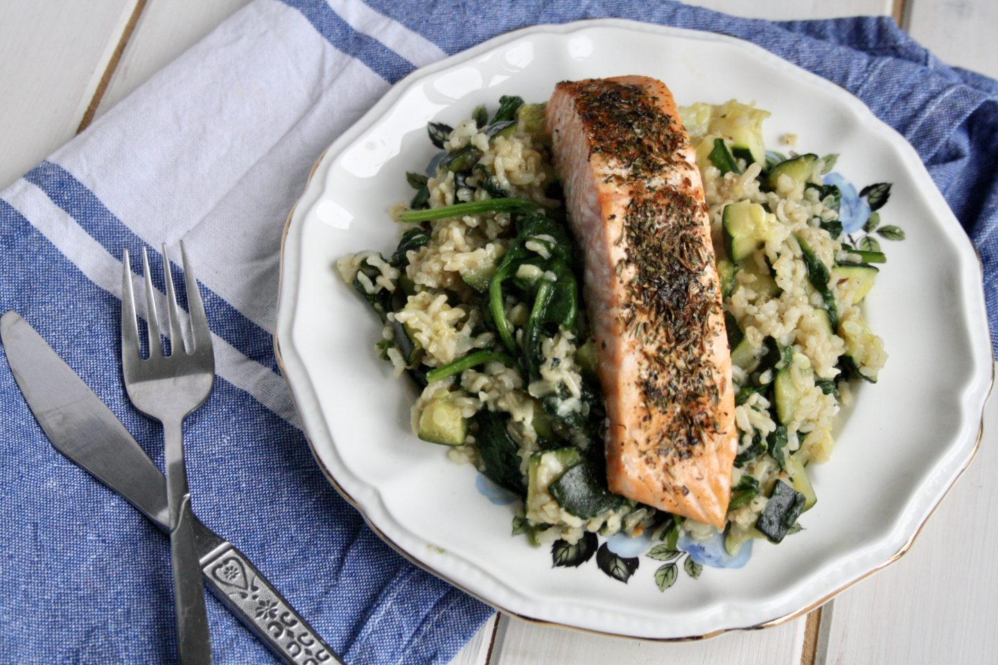 Zahtar Spiced Salmon with Hello Fresh's Flavour Generator ...