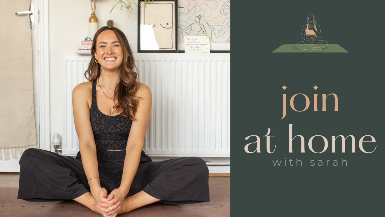 at home with sarah yoga